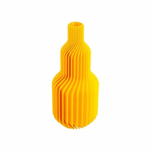 Ribbelvaas geel