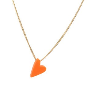 #lovedbyme necklace kleur neon-rood