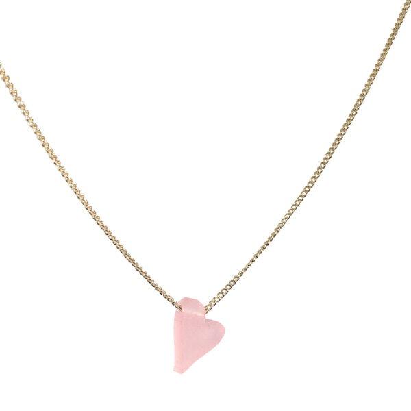 #lovedbyme-necklace-poederroze