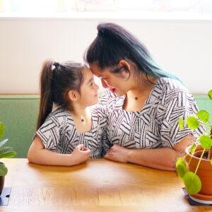 #oneheart moeder dochter kettingen